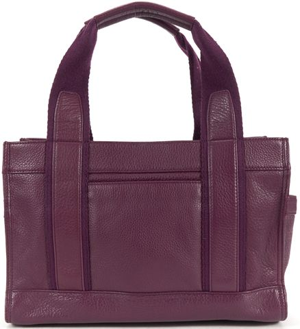 TORY BURCH Violet Purple Mini Leather Tote