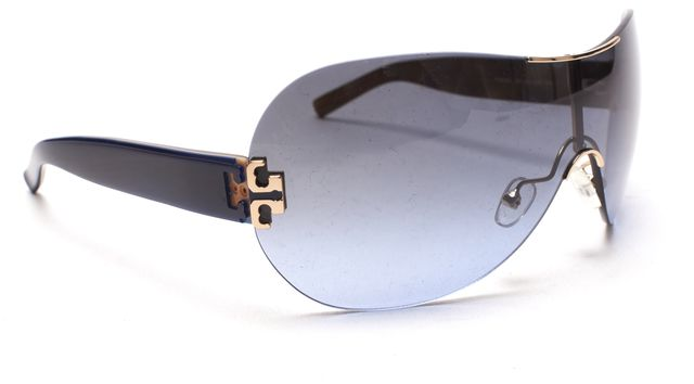 TORY BURCH Blue Shield Sunglasses