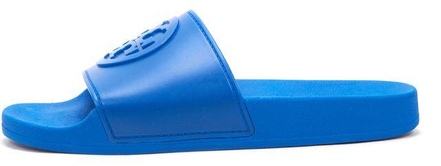 TORY BURCH Blue Slip-on Sandals