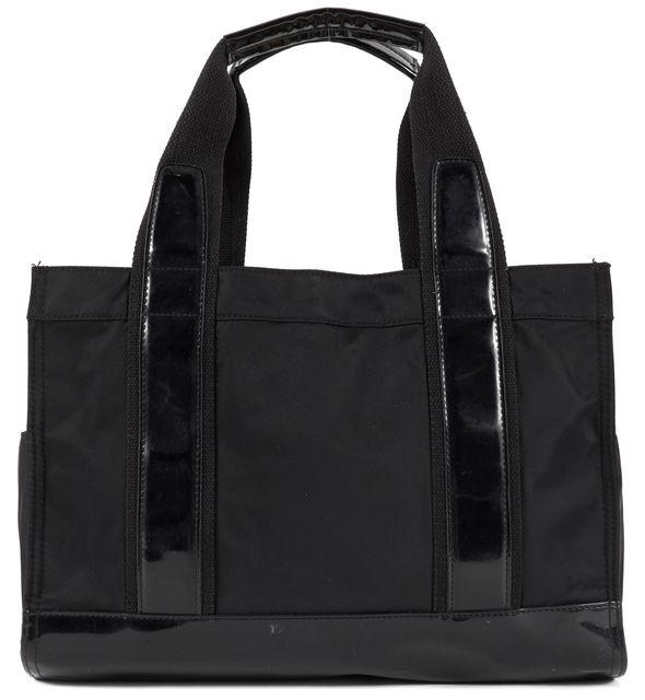 TORY BURCH Black Nylon Tote Shoulder Bag