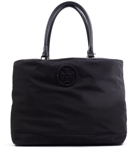TORY BURCH Back Nylon Logo Medium Top Handle Tote Bag