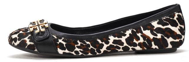 TORY BURCH Reva Leopard Eloise 2 Ballet Flats