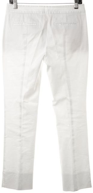 TORY BURCH White Trousers Casual Career Dress Pants