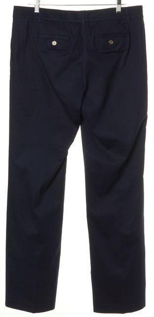 TORY BURCH Navy Blue Wide Leg Casual Pants