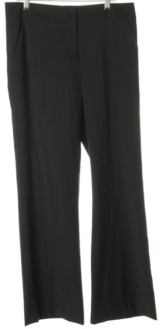 TORY BURCH Gray Wool Trousers Pants