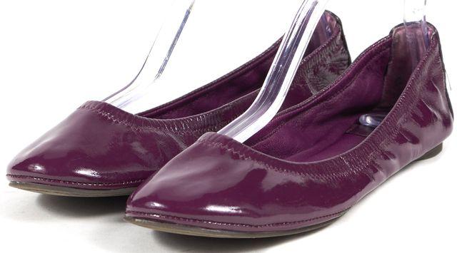 TORY BURCH Plum Purple Patent Leather Flats