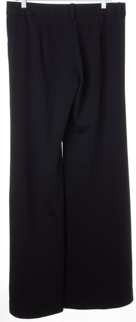 TORY BURCH Black Hersey Wide Flared Leg Trousers Pants