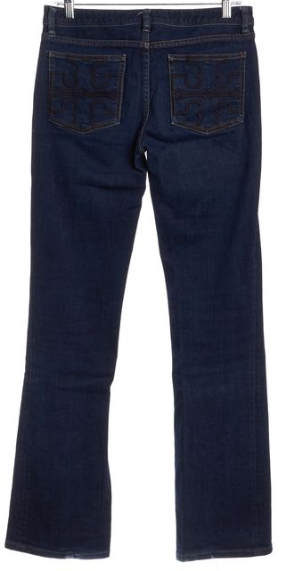 TORY BURCH Blue Wide Leg Jeans
