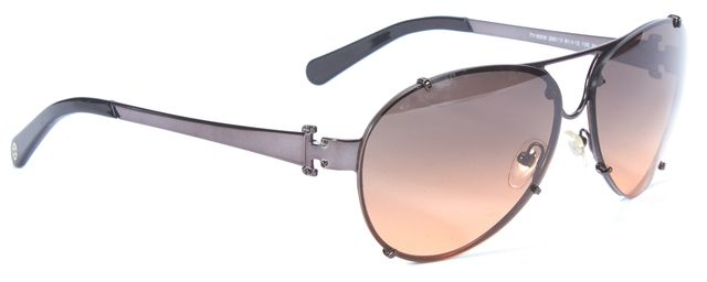 TORY BURCH Brown Gradient Aviator Sunglasses w/ case and cleaning cloth