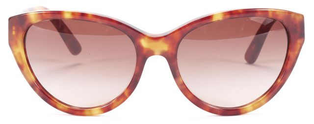TORY BURCH Brown Beige Double Color Cat Eye Sunglasses