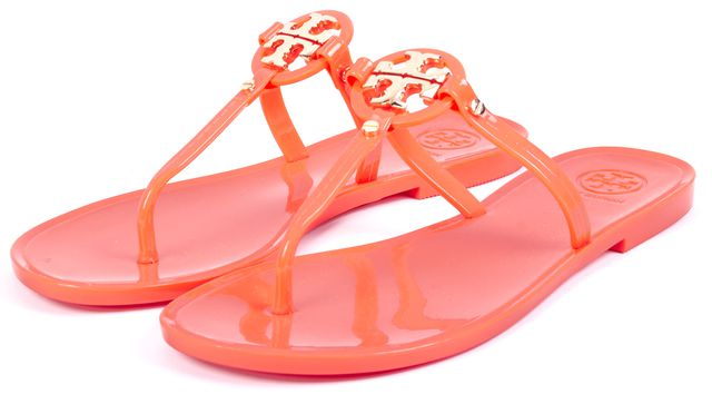 TORY BURCH Coral Miini Miller Jelly Thong T-Strap Sandals