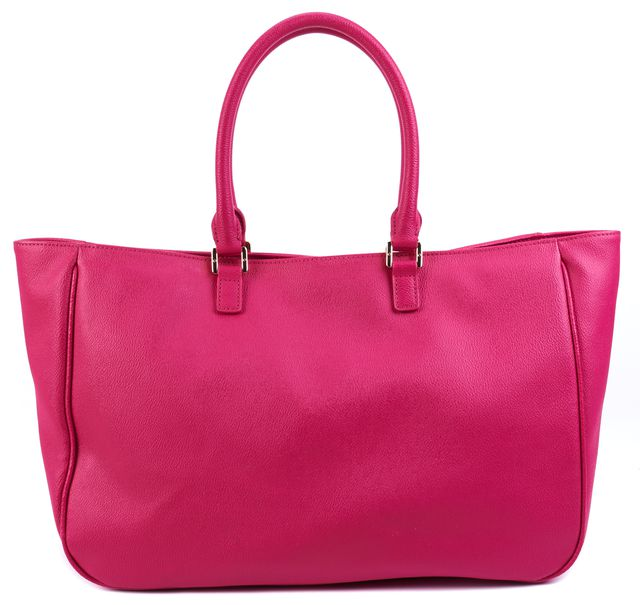 TORY BURCH Pink Leather Shoulder Bag Tote