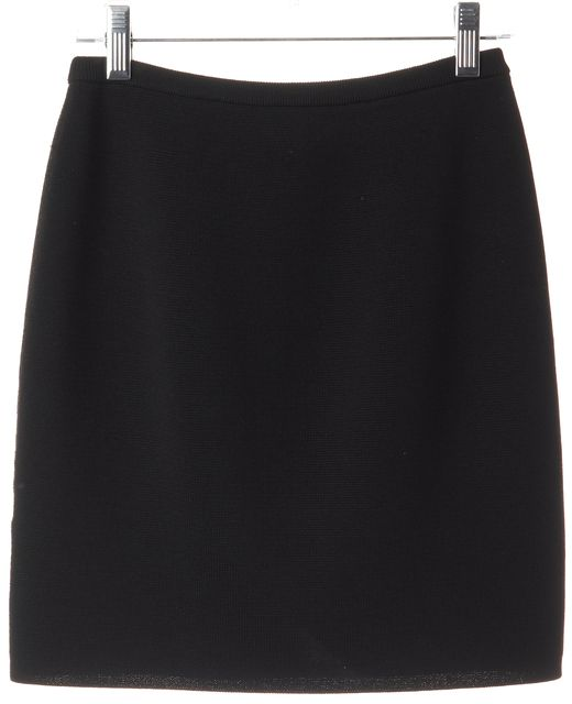 TORN BY RONNY KOBO Black Micro Mini Skirt