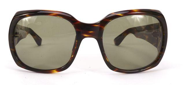 THE ROW x LINDA FARROW Brown Acetate Gradient Lens Cat No. 3 Square Sunglasses