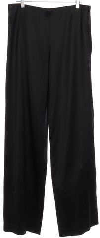THE ROW Black Straight Leg Pants