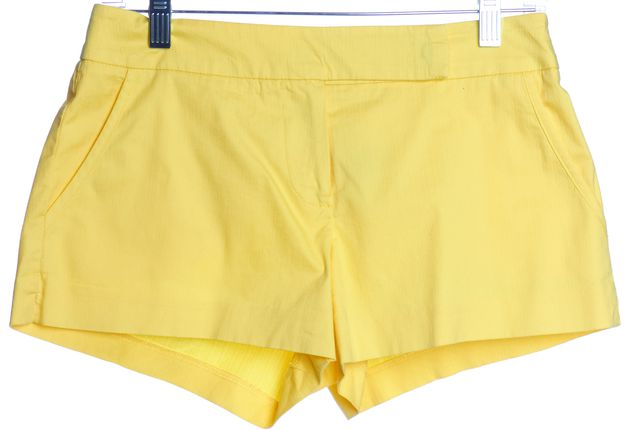 TRINA TURK Yellow Casual Shorts