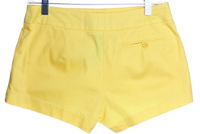 TRINA TURK Yellow Casual Shorts