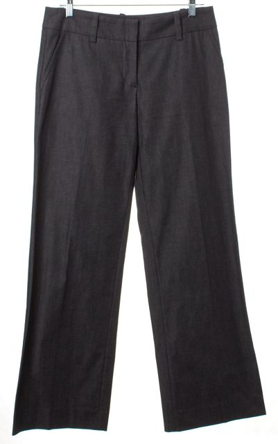 TRINA TURK #N291610-B Gray Wool Casual Pants