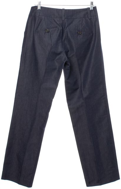 TRINA TURK Blue Cotton Pants