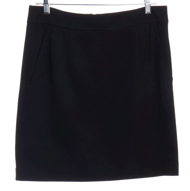 TRINA TURK Black Pencil Skirt