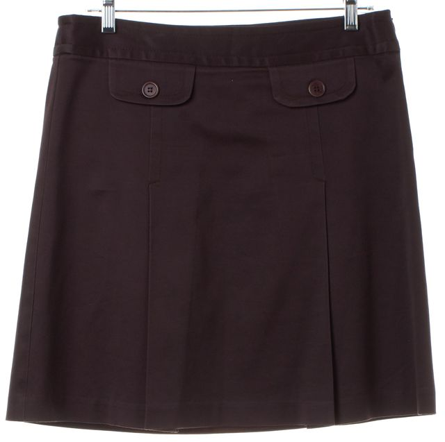 TRINA TURK Plum Purple Skirt