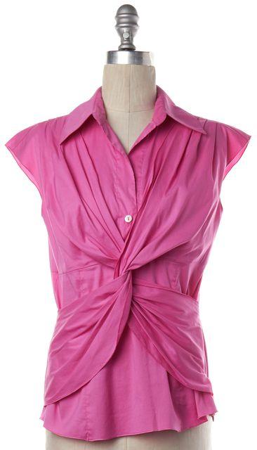 TRINA TURK Pink Blouse Top