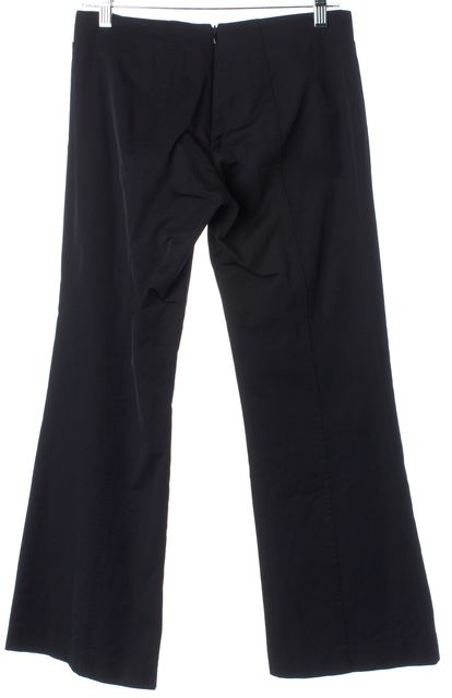 TRINA TURK Solid Black Cropped Casual Dress Pants