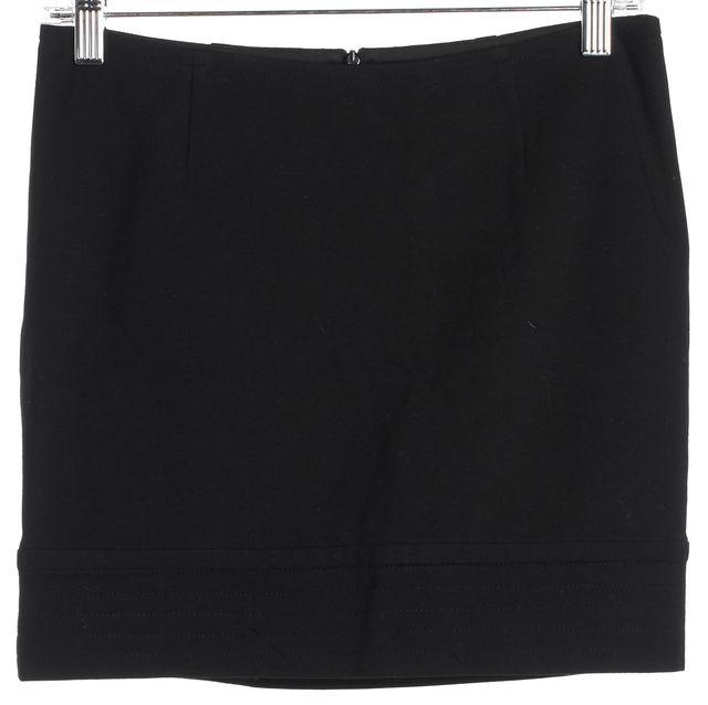 TRINA TURK Black A-Line Skirt