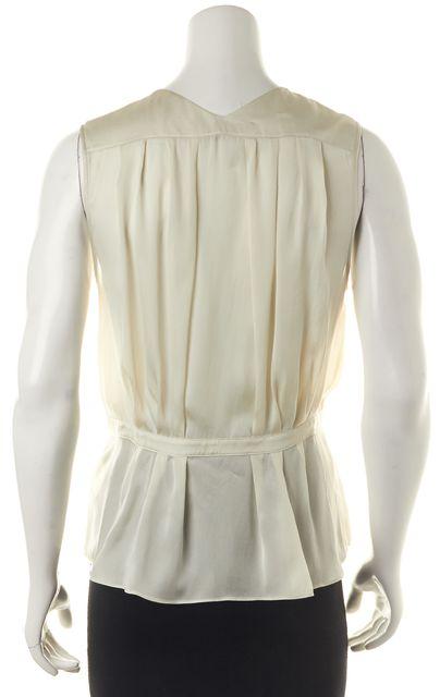 THEYSKENS' THEORY Ivory Silk Blouse