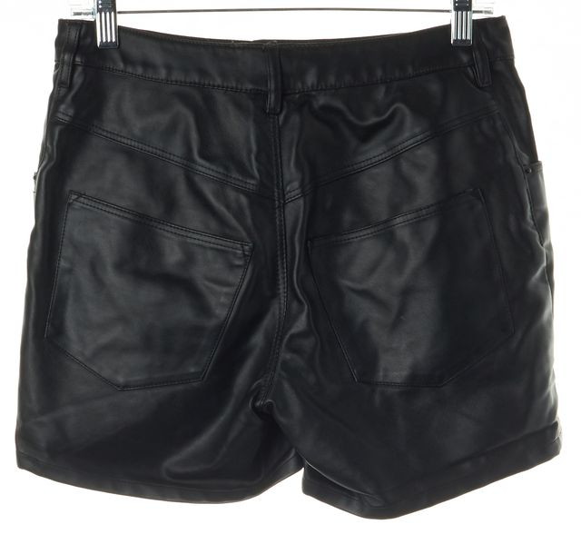 THEYSKENS' THEORY Black Polyester Blend Casual Shorts