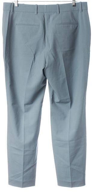 THEYSKENS' THEORY Teal Blue Wool Peete Pleated Dress Pants