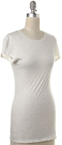 VINCE Heather Ivory T-Shirt