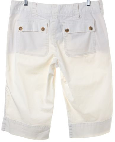 VINCE Off White Bermuda Walking Shorts Size 10