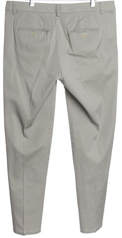 VINCE Light Gray Casual Pants