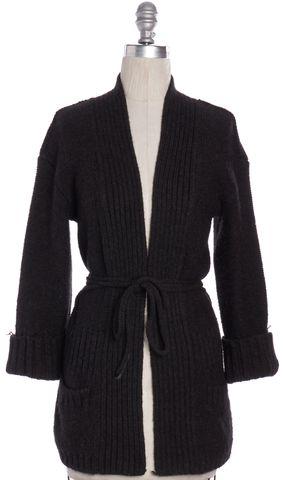 VINCE Brown Alpaca Knit Cardigan Sweater Size XS