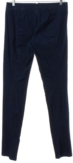 VINCE Blue Back Zip Leggings