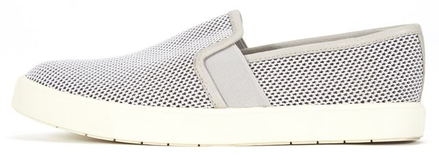 VINCE Gray Mesh Slip On Sneakers