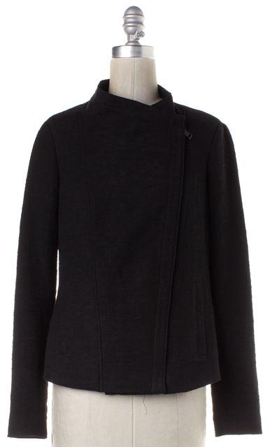 VINCE Black Zip Up Jacket