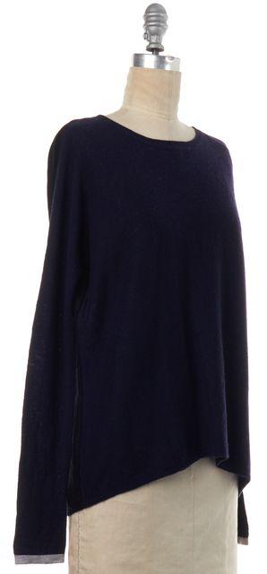 VINCE Blue Wool Knit Top
