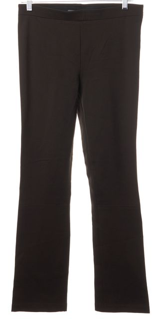 VINCE Brown Stretch Ponte Jersey High Rise Leggings Pants