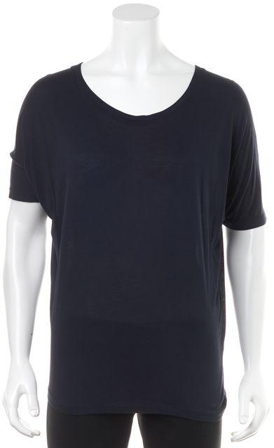 VINCE Navy Basic T-Shirt