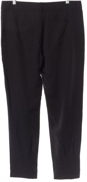 VINCE Black Lightweight Casual Pants