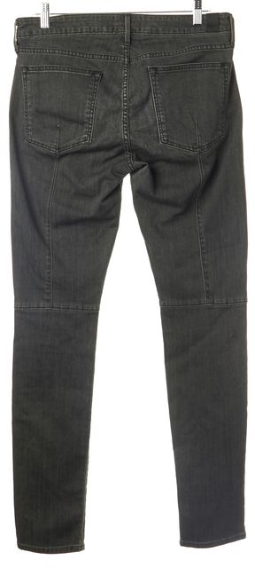 VINCE Gray Distressed Wash Casual Slim Fit Casual Skinny Jeans