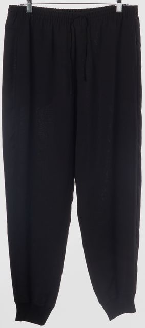 VINCE Black Casual Jogger Relaxed Fit Classic Pants