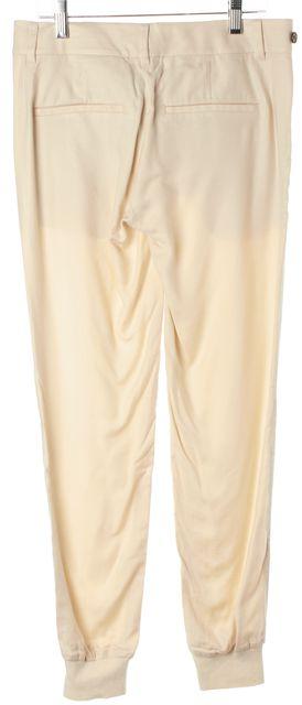 VINCE Light Beige Trouser Style Jogger Pants
