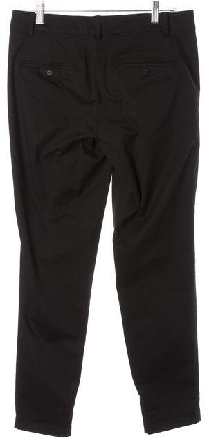 VINCE Black Stretch Cotton Slim Leg Chinos Trousers Pants
