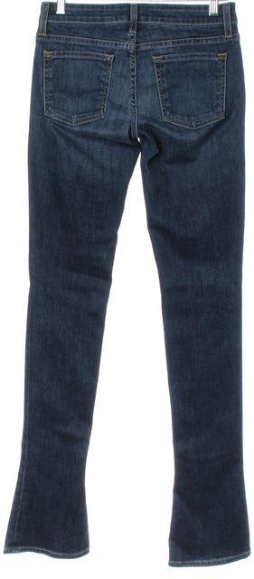 VINCE Blue Boot Cut Low Rise Flare Leg Jeans