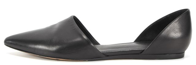 VINCE Leather d'Orsay Pointed Toe Flats