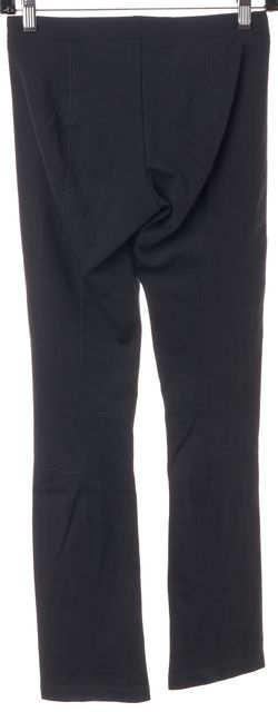 VINCE Charcoal Gray Contrast Stitch Casual Pant Leggings