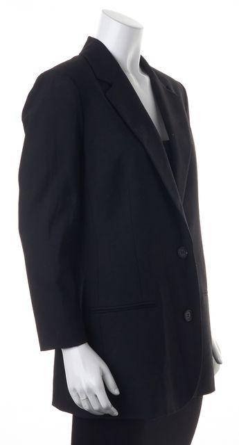 VINCE Black Two Button Blazer